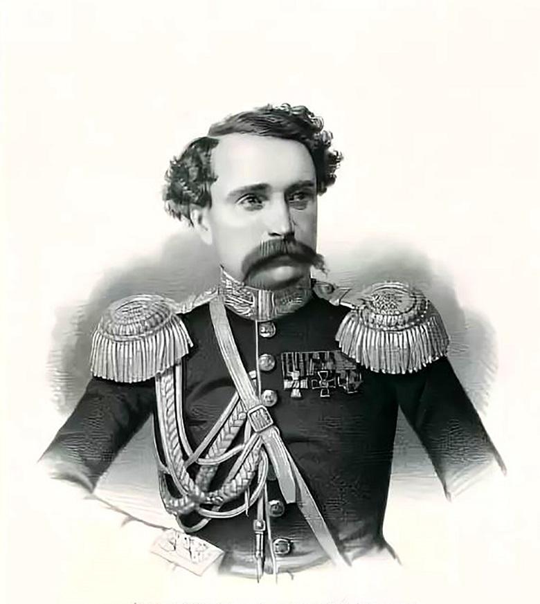 Князь Николай Эристов, герой Крымской войны.